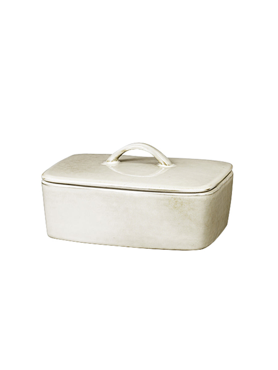 BUTTER DISH - NORDIC SAND