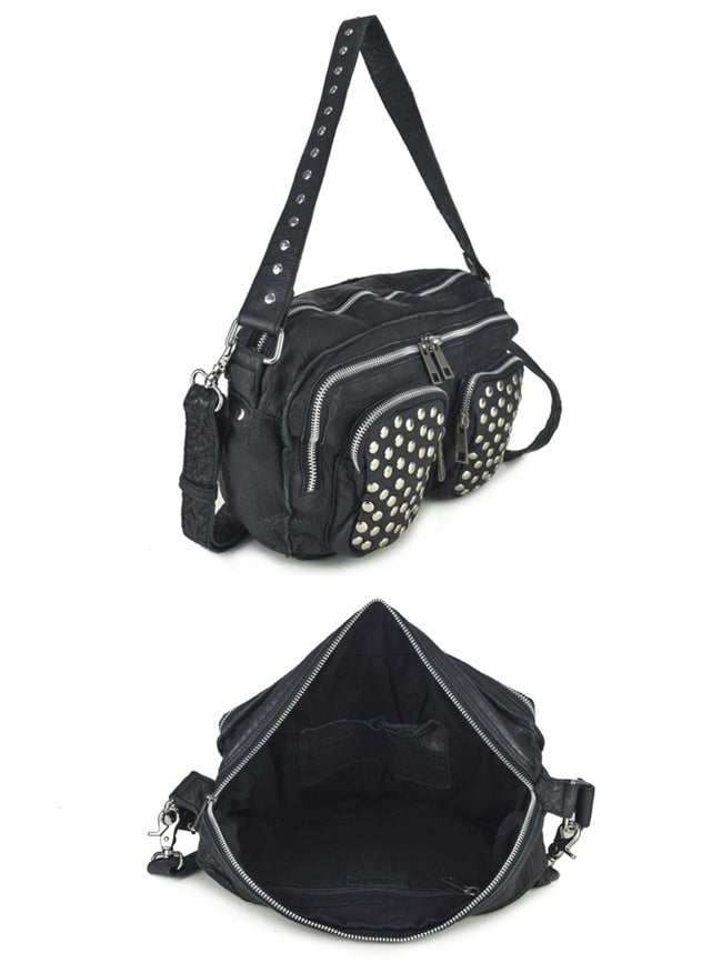 ALIMAKKA BLACK DISCO BAG