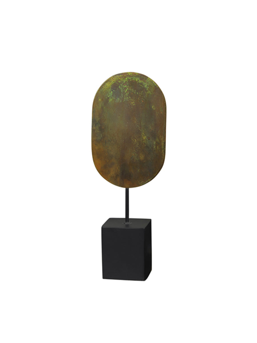 ASLE DECORATION - GREEN PATINA