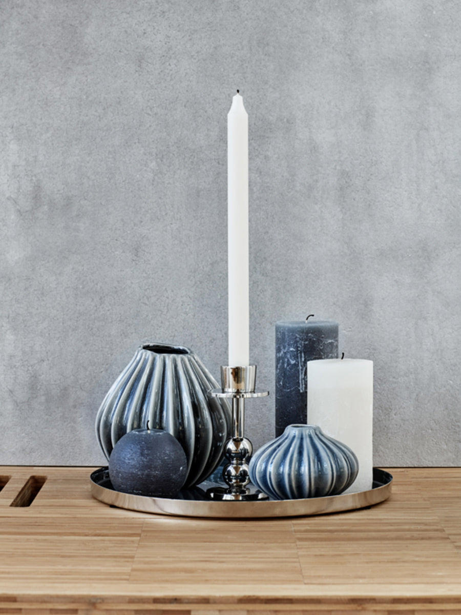 PILLAR CANDLE - ORION BLUE
