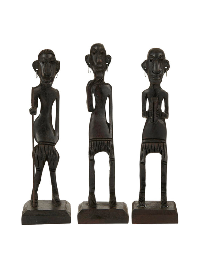 TRIBES PEOPLE SET OF 3