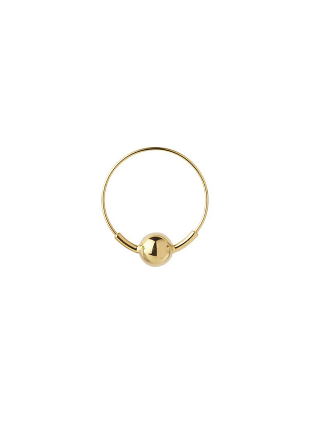 BALL HOOP S - GOLD