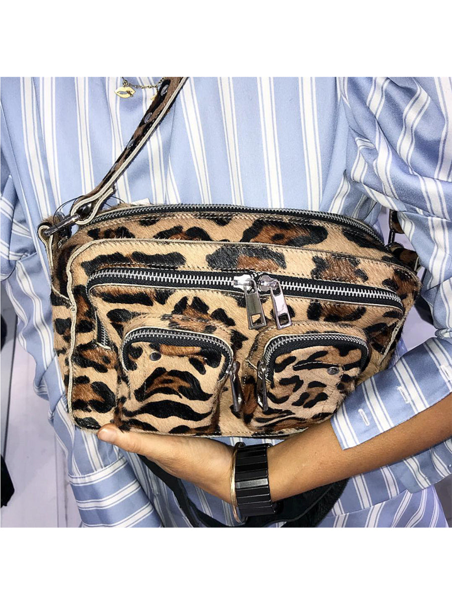 ELLIE LEOPARD BAG