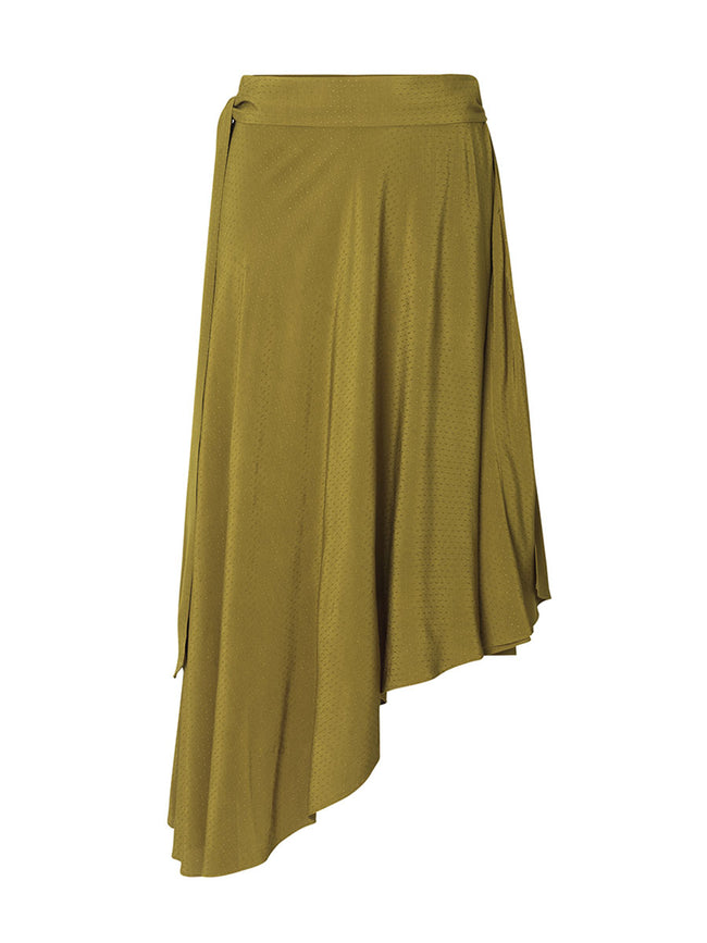CHILA ASYMMETRIC WRAP SKIRT
