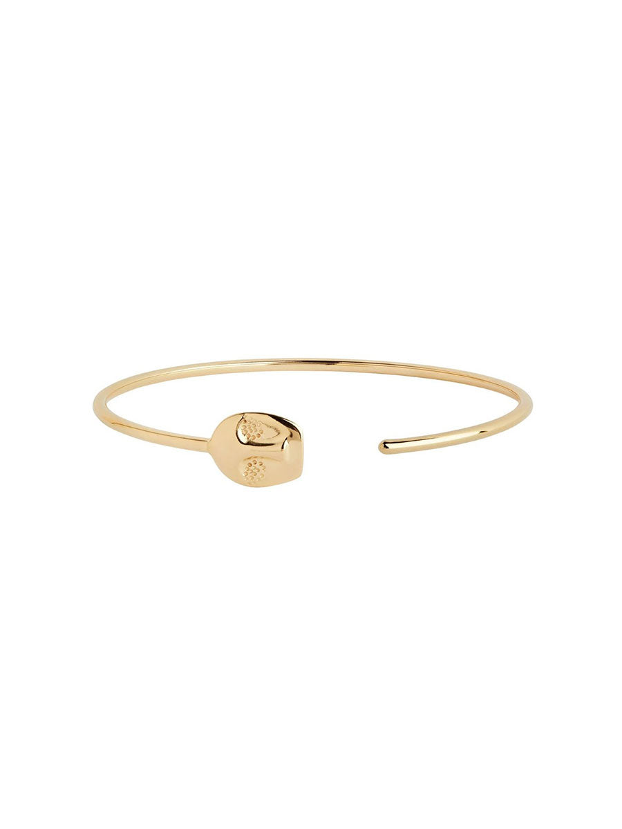 RAY OPEN FACE BANGLE