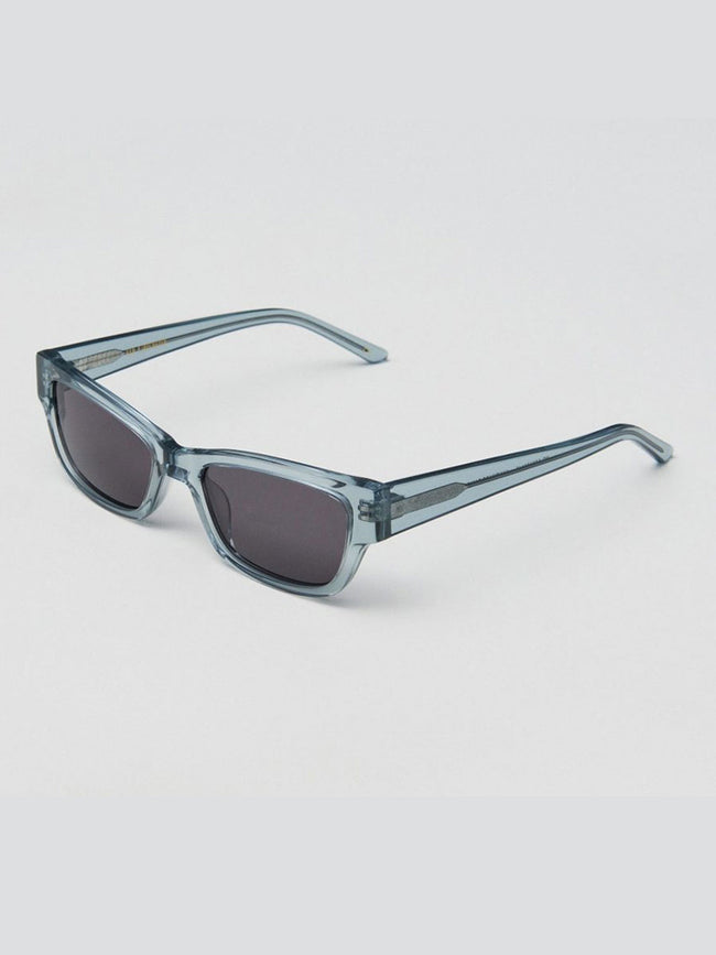 MOON TRANSPARENT GREY SUNGLASSES