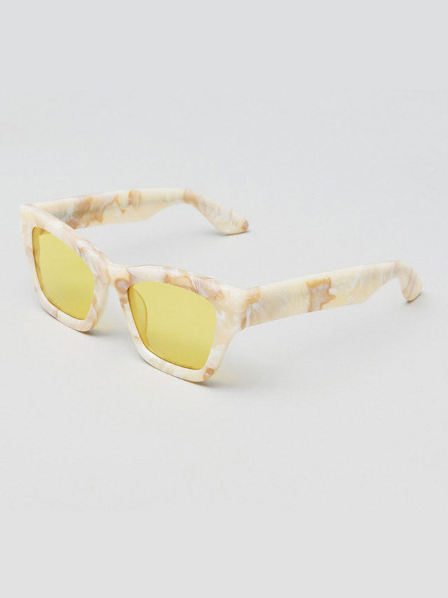 BRICK MARBLE RETRO SUNGLASSES