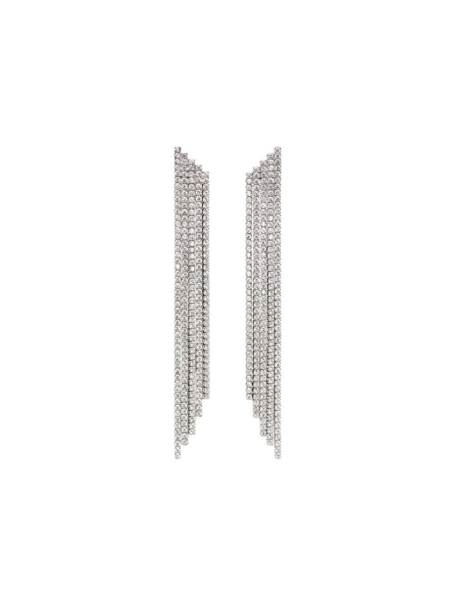 DOMINIQUE CUBIC WATERFALL EARRINGS