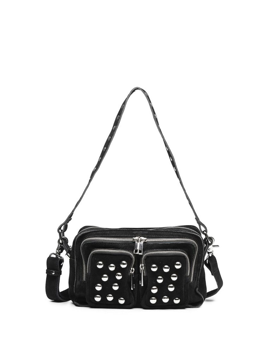 ELLIE STUD BAG - BLACK