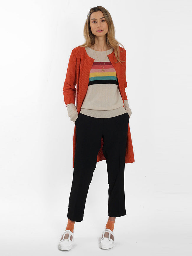 NITO RAINBOW STRIPE JUMPER