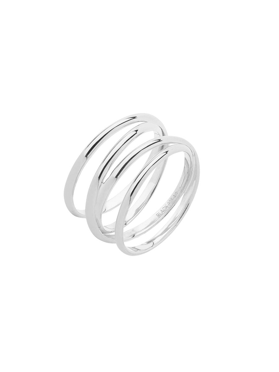AUGUSTE WRAP RING - SILVER