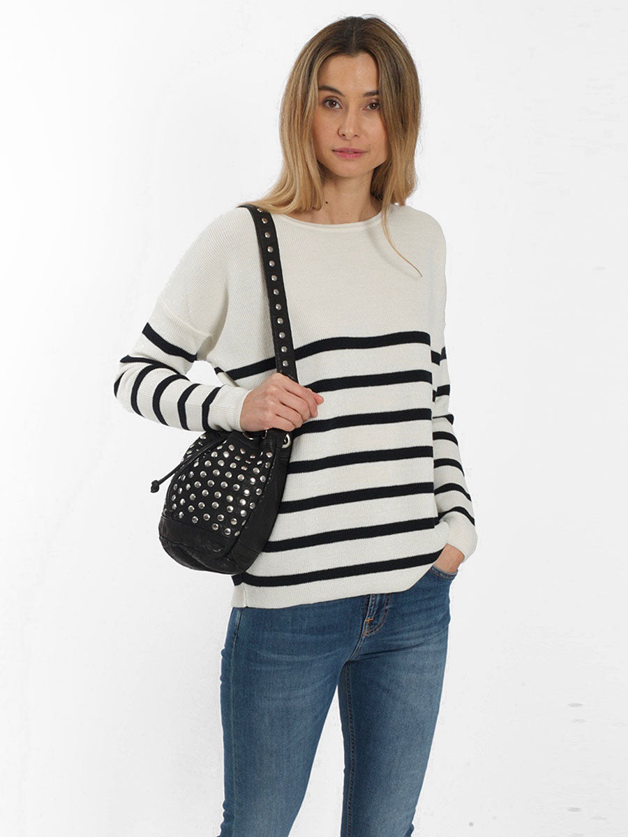 BARI FINE KNIT JUMPER