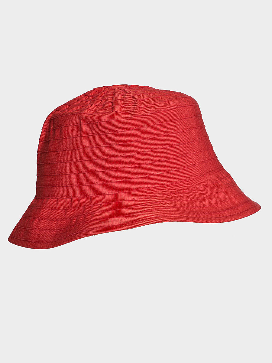 ANGELICA BUCKET HAT RED