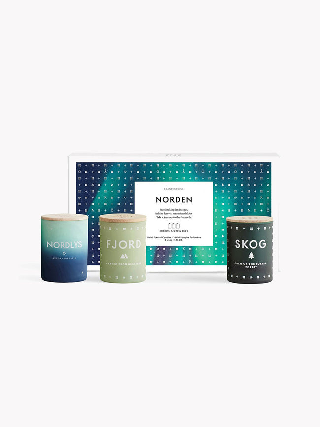 GIFT SET/TRIO OF CANDLES - NORDEN