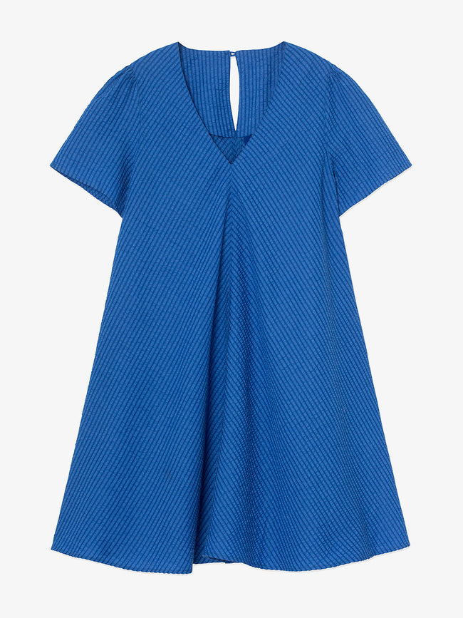 ULVA SWING DRESS - CROWN BLUE