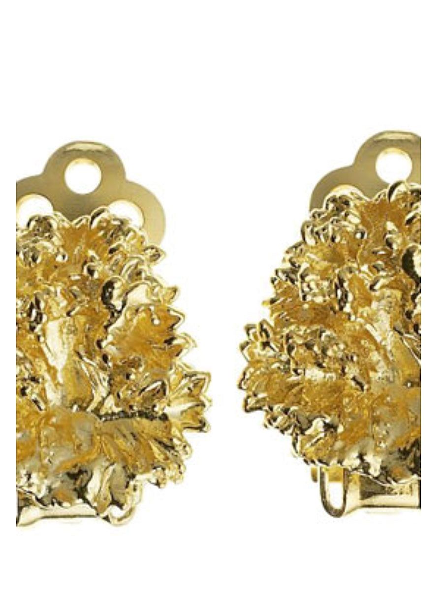 PARSLEY EARCLIPS - GOLD
