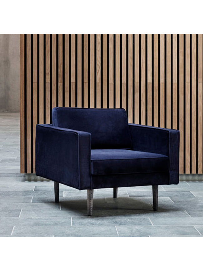 WIND ARMCHAIR - INSIGNIA BLUE