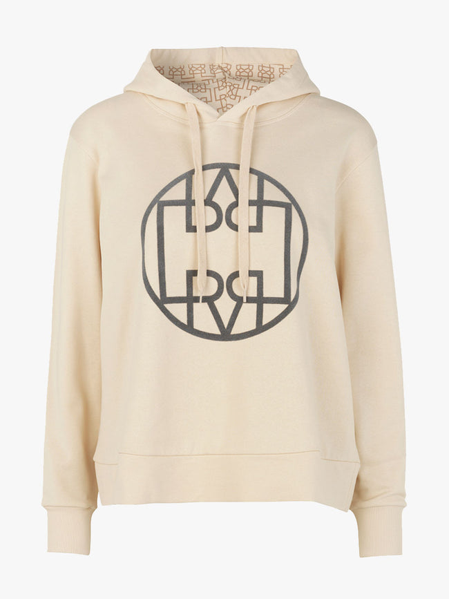 ISE HOODED SWEATSHIRT - ANGORA