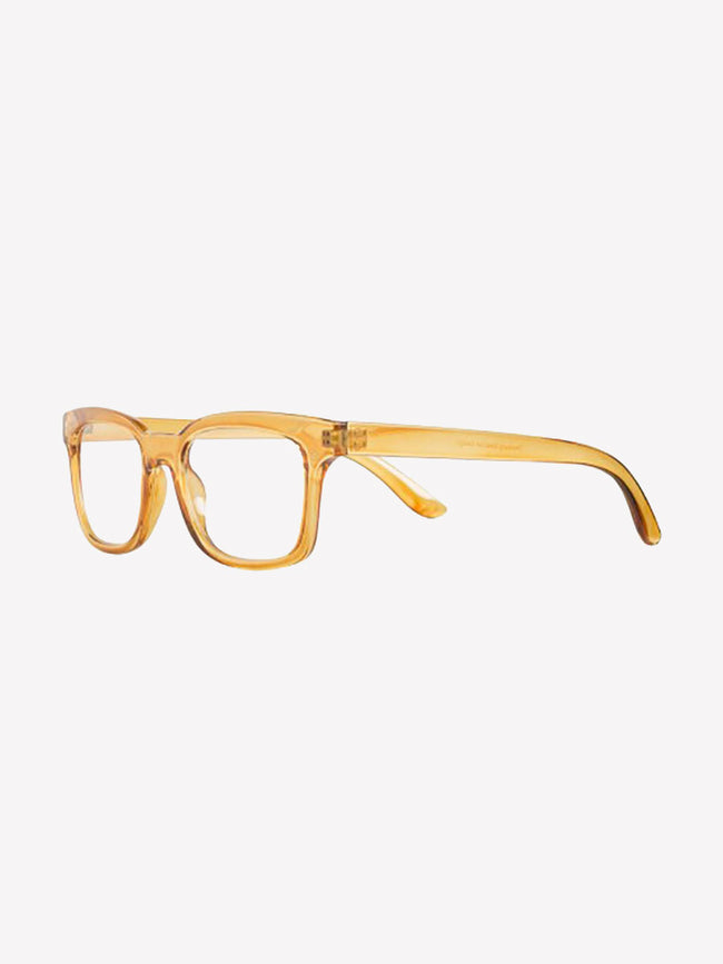 JOYCE READING GLASSES - TRANSPARENT GOLDEN