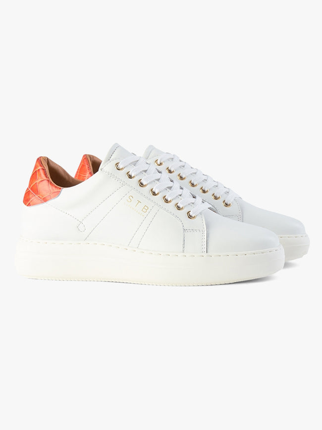 VINCA LACE L TRAINERS - WHITE