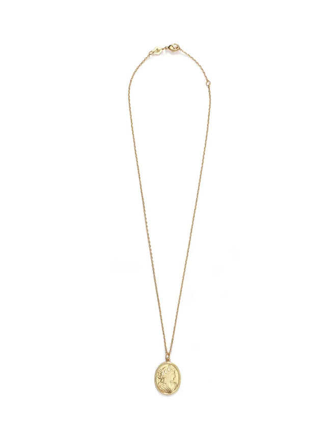 CARLA NECKLACE GOLD