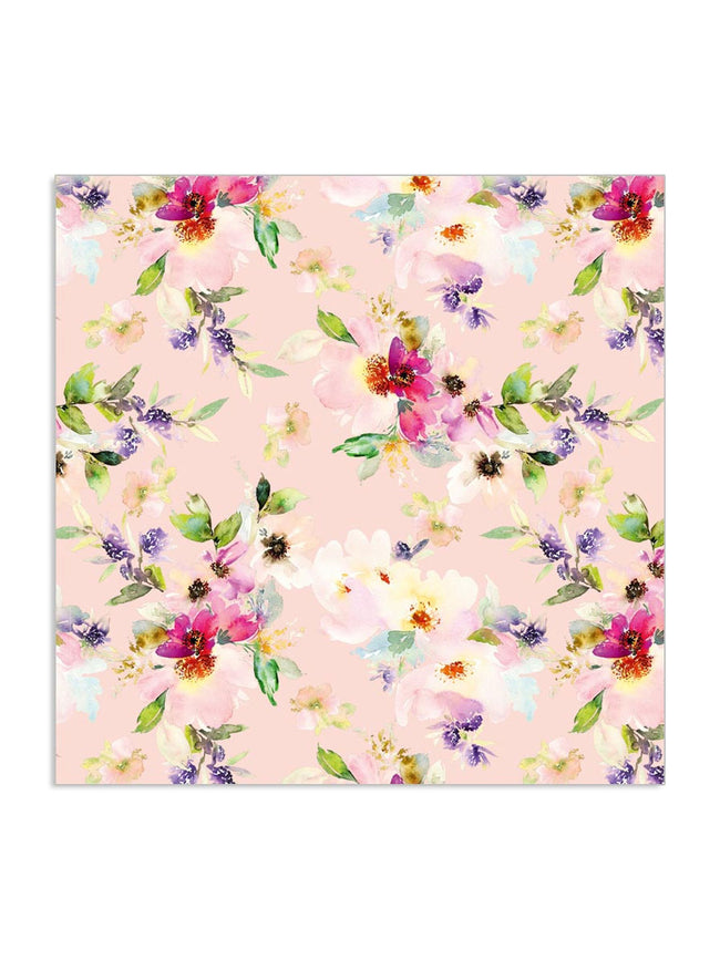 WATERCOLOUR FLORAL NAPKINS