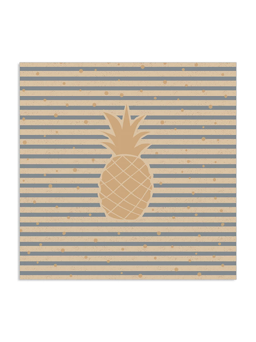 PINEAPPLE NATURAL ORGANIC NAPKINS