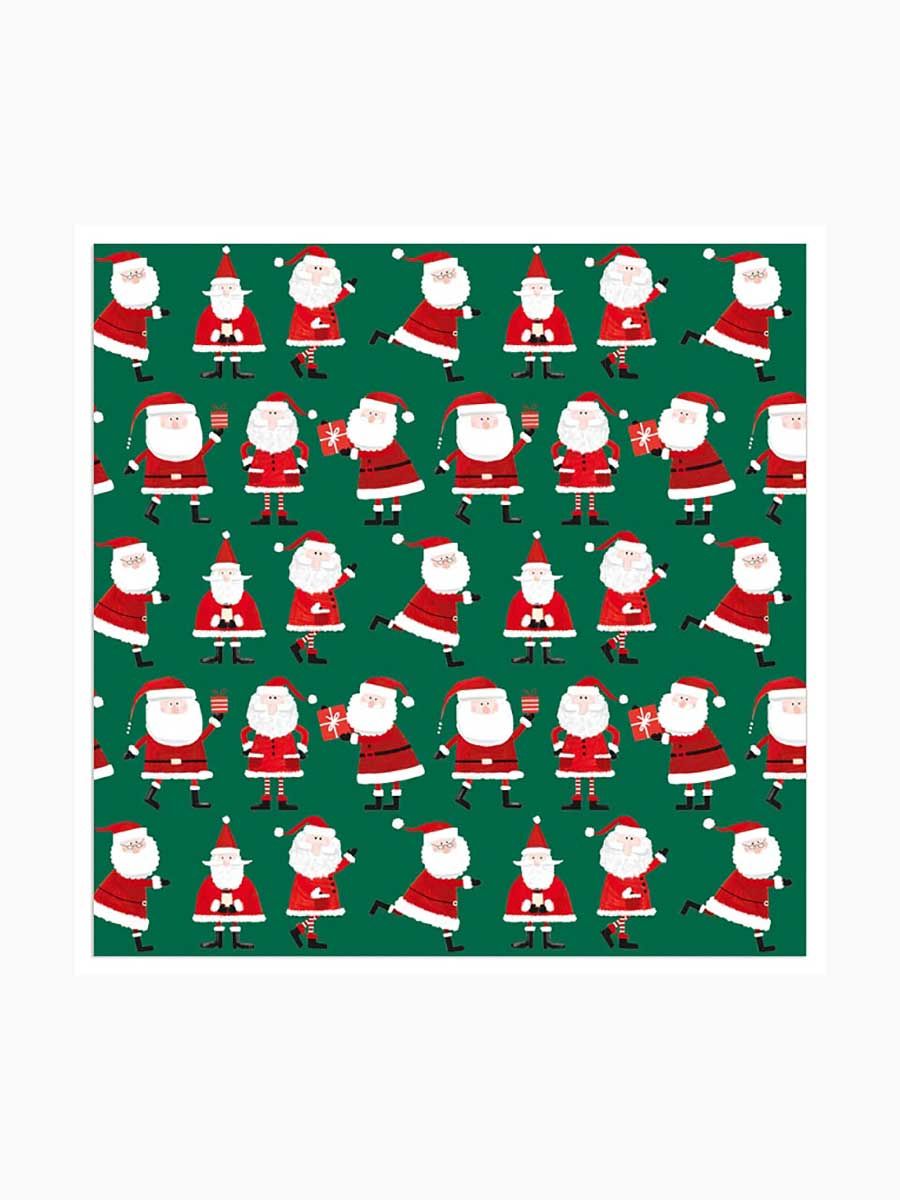 TINY SANTA NAPKINS