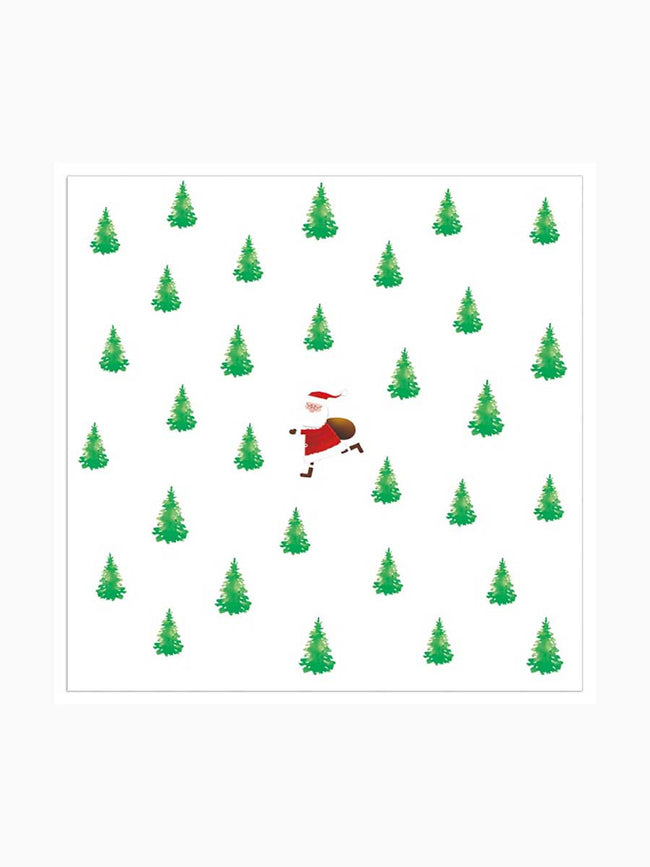 TINY XMAS TREES NAPKINS