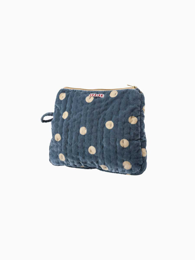 MILLA SMALL TOILETRY BAG - PASTEL BLUE