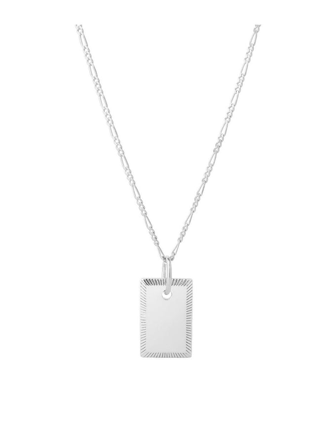 ELIZA 65 ADJUSTABLE NECKLACE - SILVER