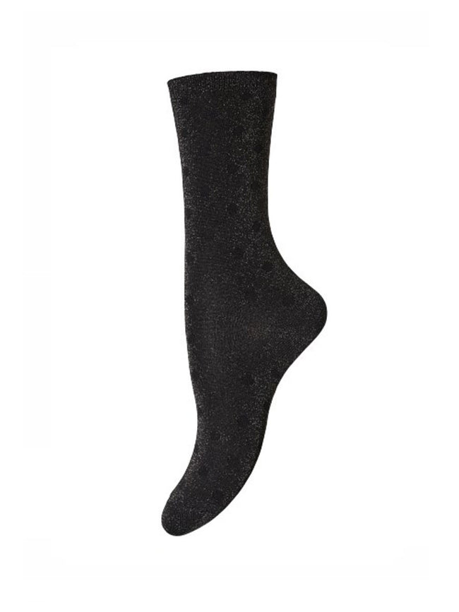 DONNA ANKLE SOCKS - COFFEE