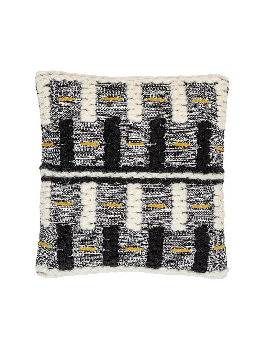 CUSHION MULTI-COLOR WOOL