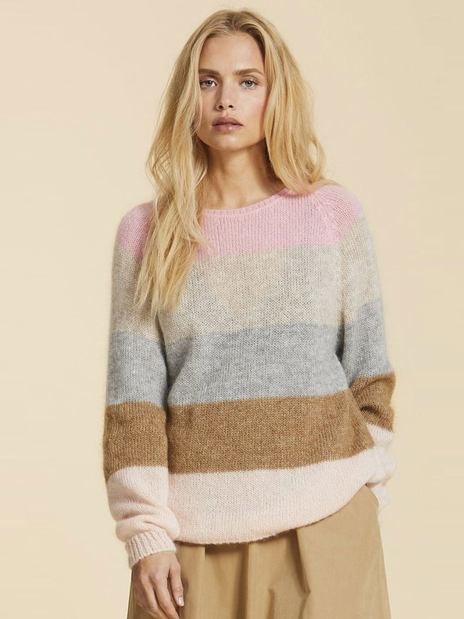 AKI STRIPED JUMPER - MULTI