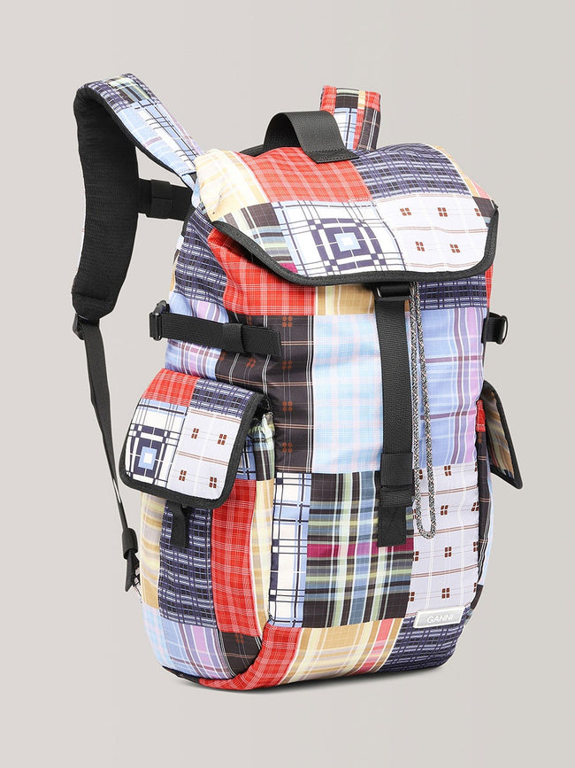 TECH FABRIC BACKPACK - FOREVER BLUE