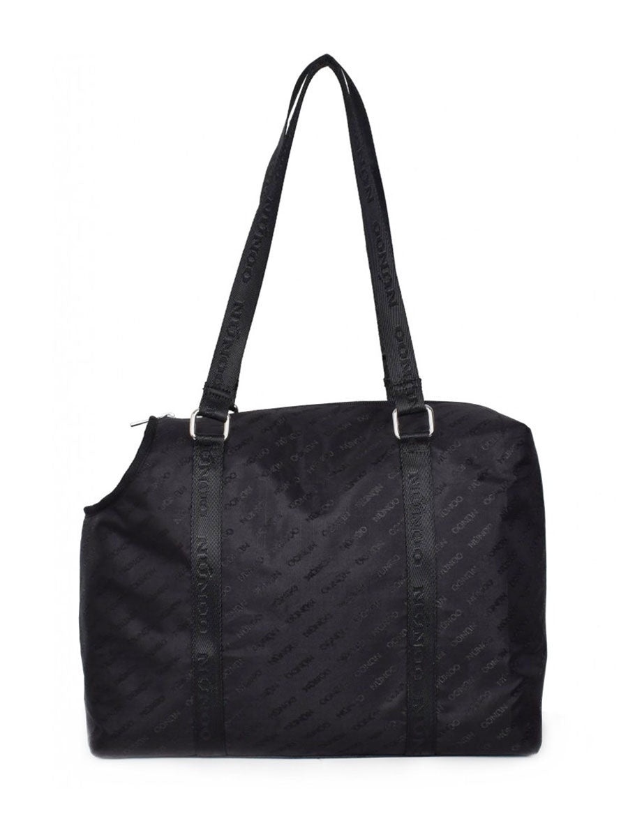 HONEY LOGO SPORT BAG - BLACK