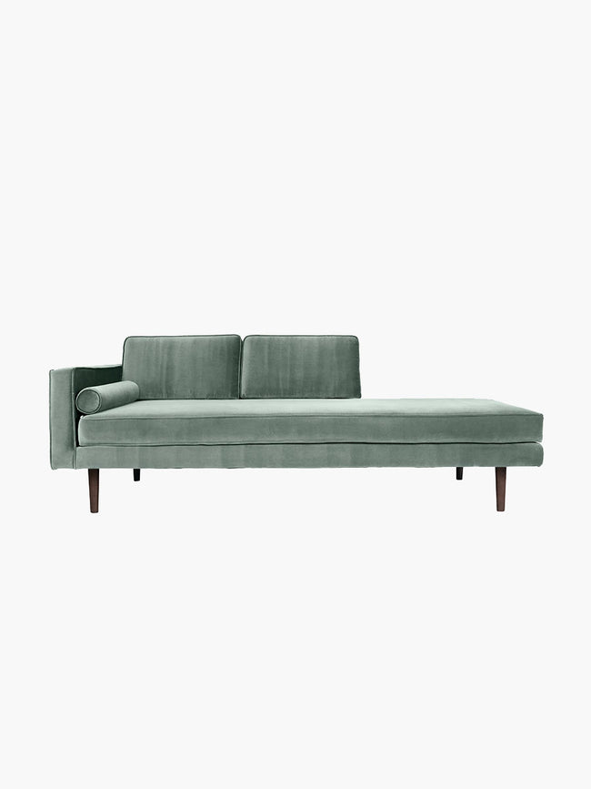 WIND CHAISE LONGUE SOFA - CHINOIS GREEN