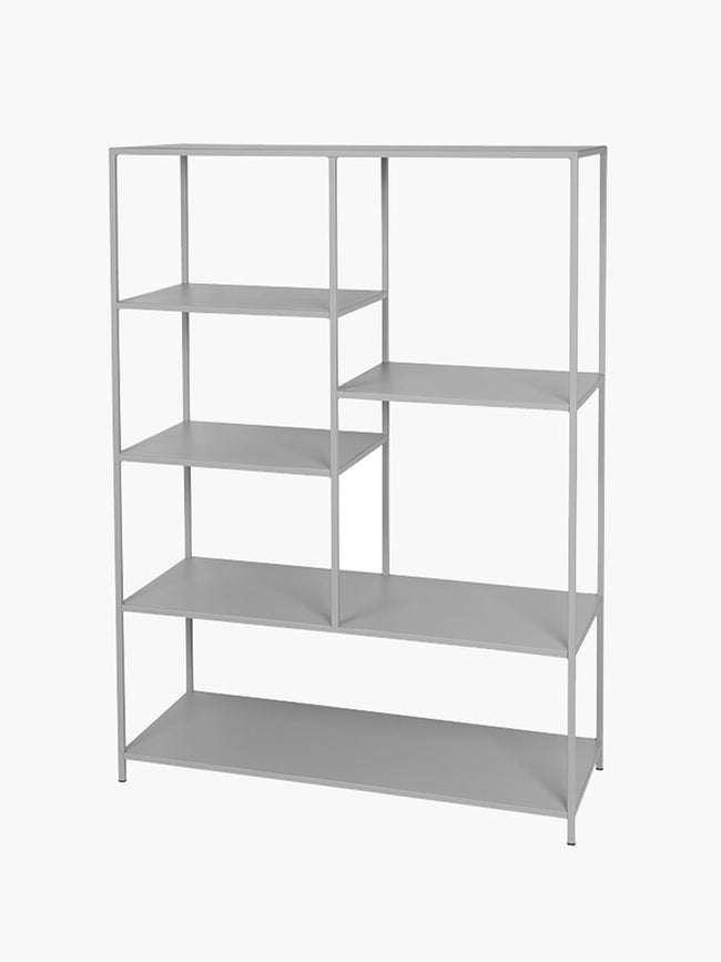 LARGE RYLE BOOKCASE - DRIZZLE