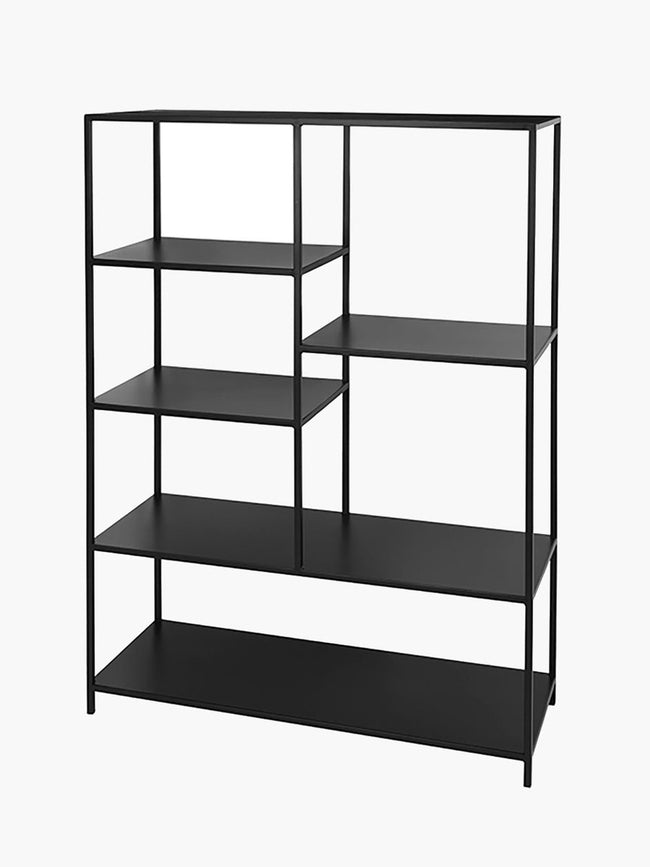 LARGE RYLE BOOKCASE - SIMPLY BLACK
