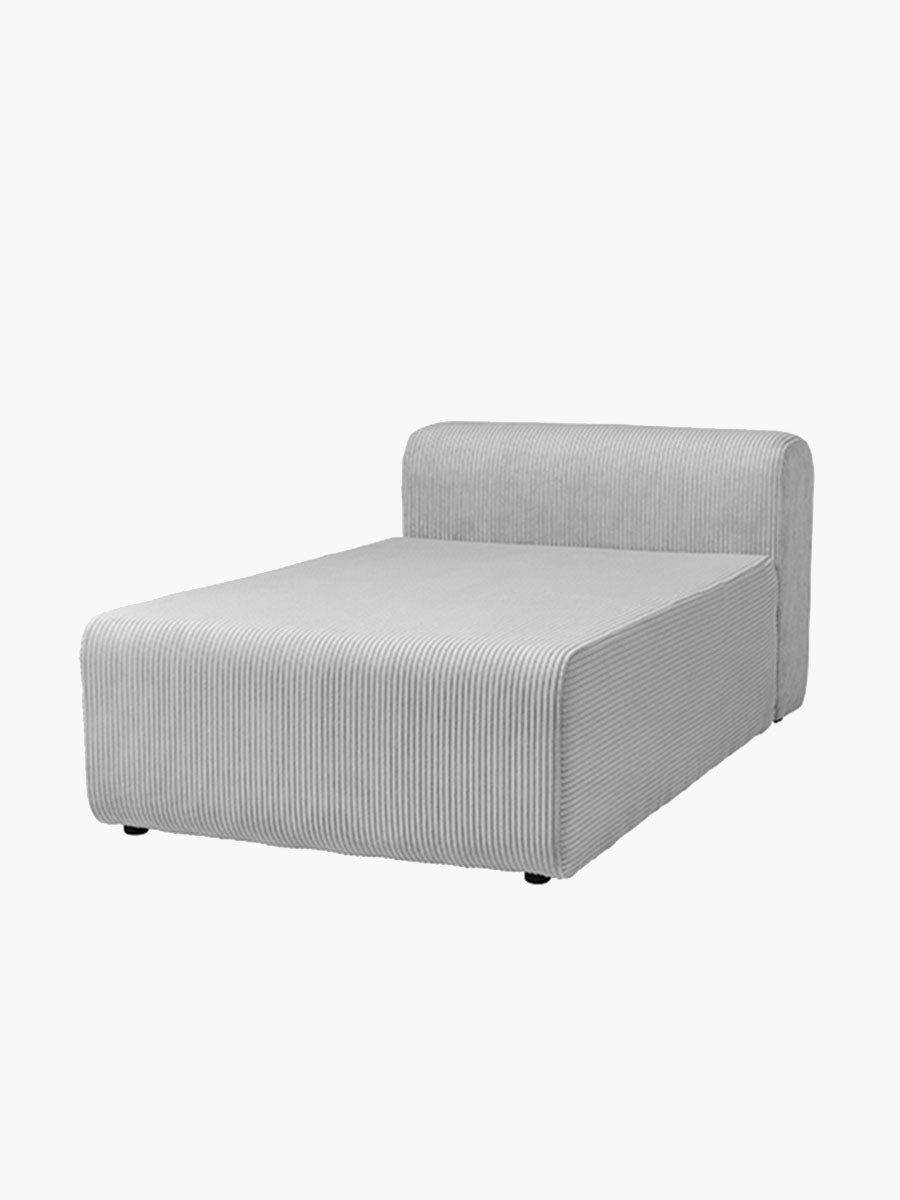 LAKE CHAISE LONGUE - DOVE GREY
