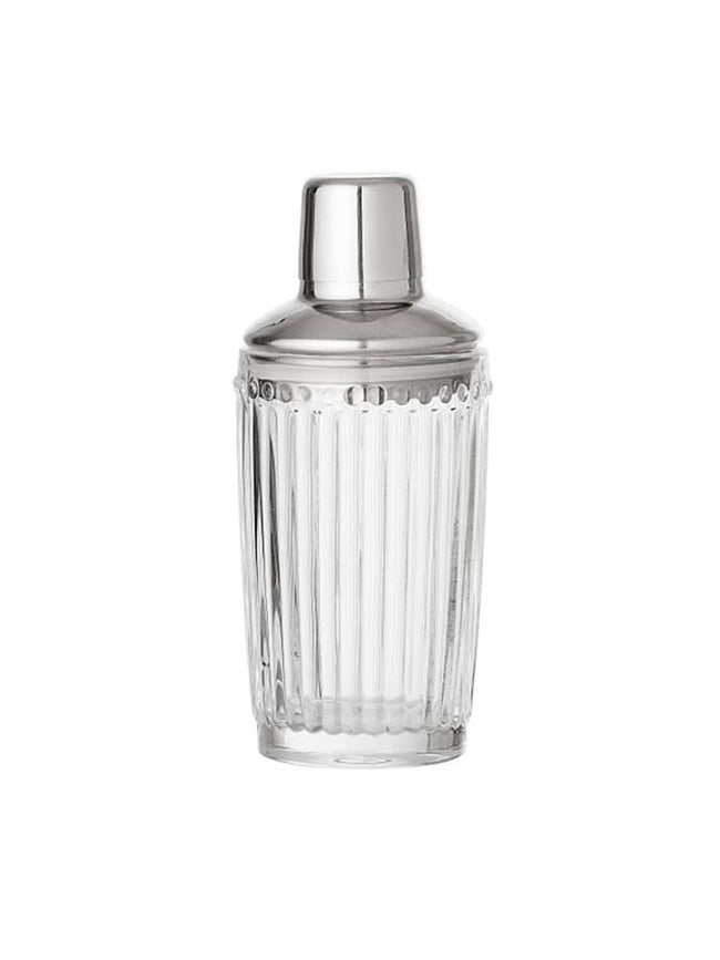 DECO COCKTAIL SHAKER SILVER