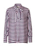 DELL1 SILK STRIPE SHIRT