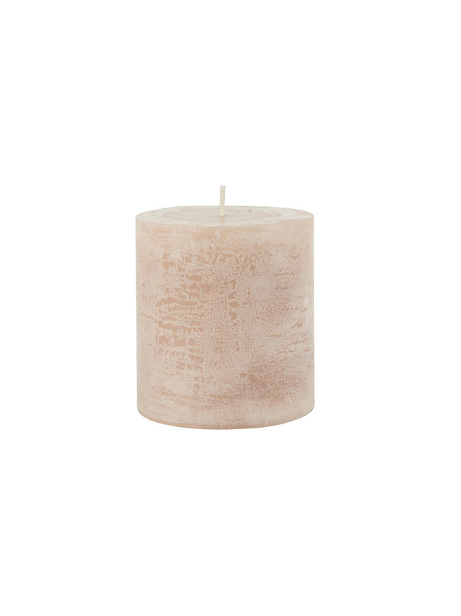 RUSTIC PILLAR CANDLE