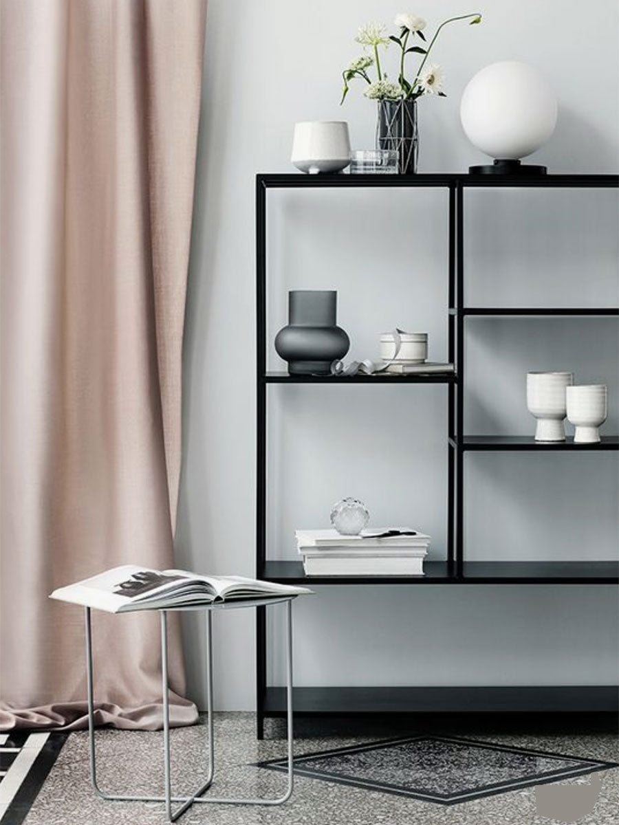 MEDIUM RYLE BOOKCASE - SIMPLY BLACK