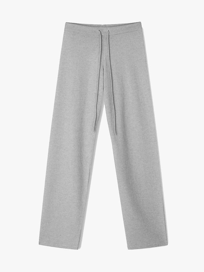 HANNAH VELOX TROUSERS - DARK MELANGE GREY