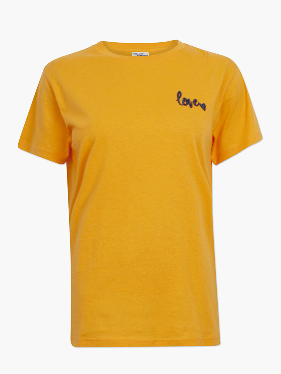 JOLEE ORANGE LOVE TEE