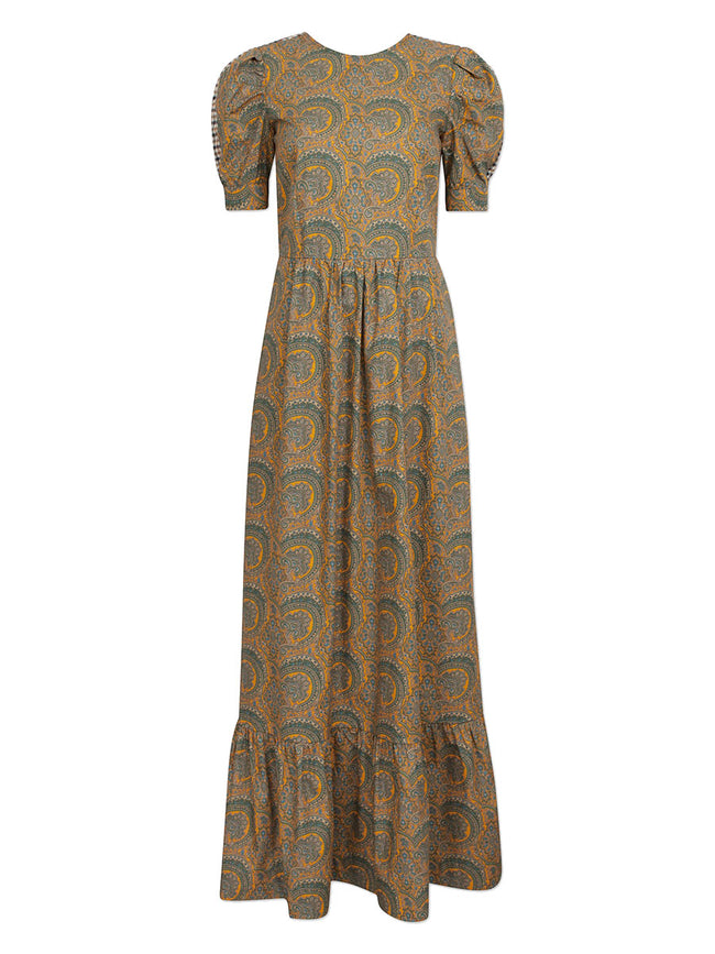 AERIN PAISLEY DRESS