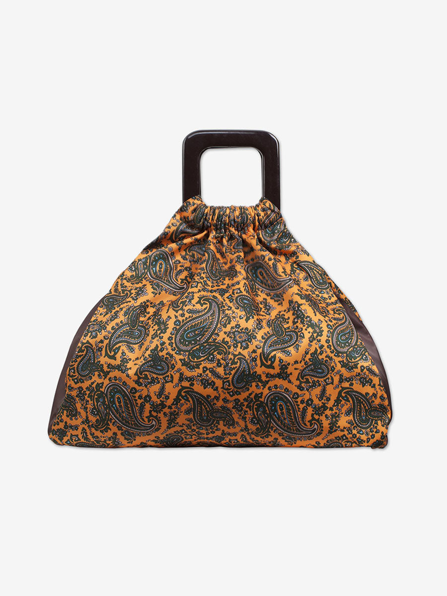 KINU PAISLEY RETRO SHOPPER BAG