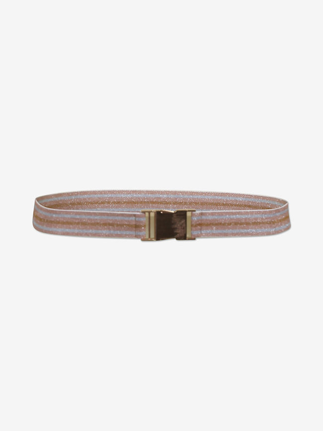 LILIA BELT - ROSE/BROWN/BLUE