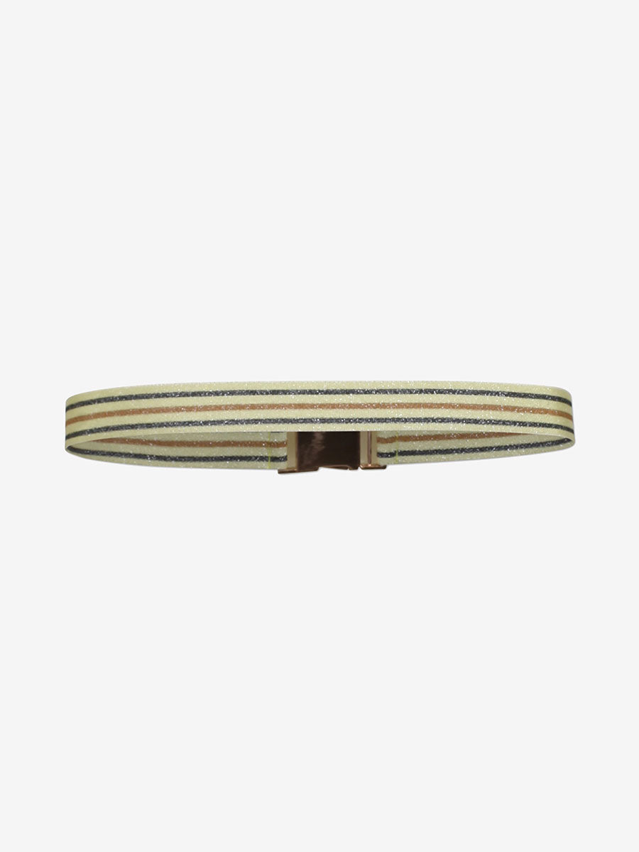 LILIA BELT - YELLOW/BLACK/BROWN